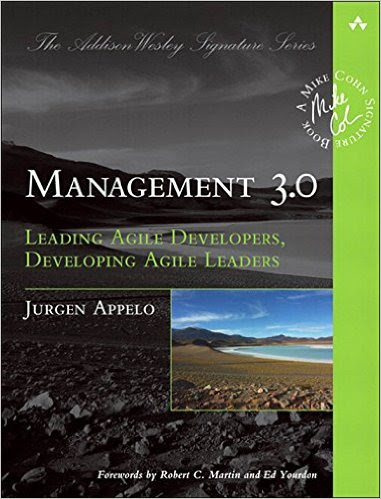 """The cover of Management 3.0 book"""