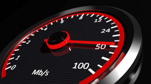 A Mb speed counter