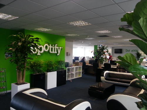 Spotify offices