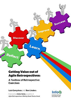 The cover of Getting Agile Out Of Agile Retrospectives