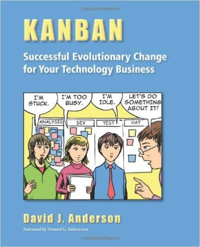 The cover of the Kanban book