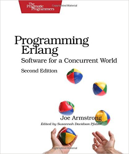 Cover of the Erlang book