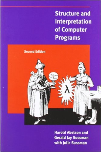 Cover of the SICP book