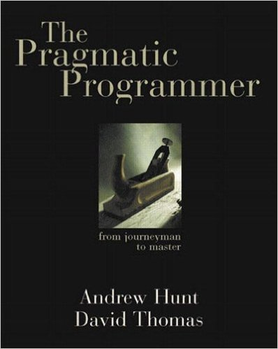 Cover of the pragmatic programmer book