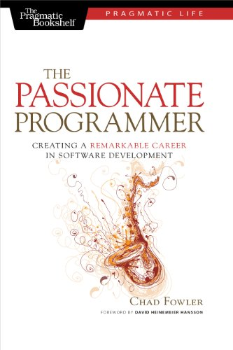 The cover of The Passionate Programmer book