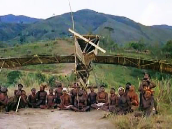 Cargo Cult : People thought that by building something that looks like a plane, they would be able to fly