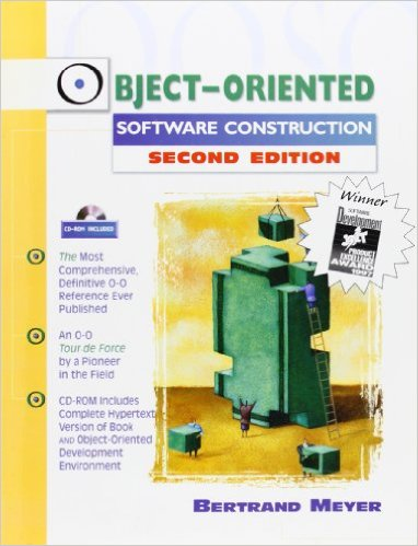 The cover of the Object Oriented Software Construction 2