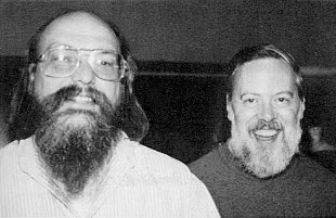 Ken Thompson and Dennis Ritchie, the creators of Unix