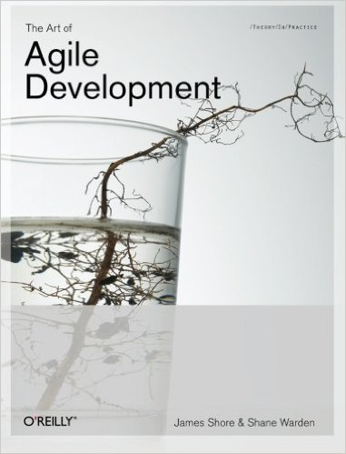 Front cover of the Art of Agile Software Development book