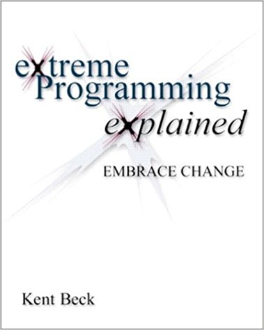 Front cover of the first edition of the XP book