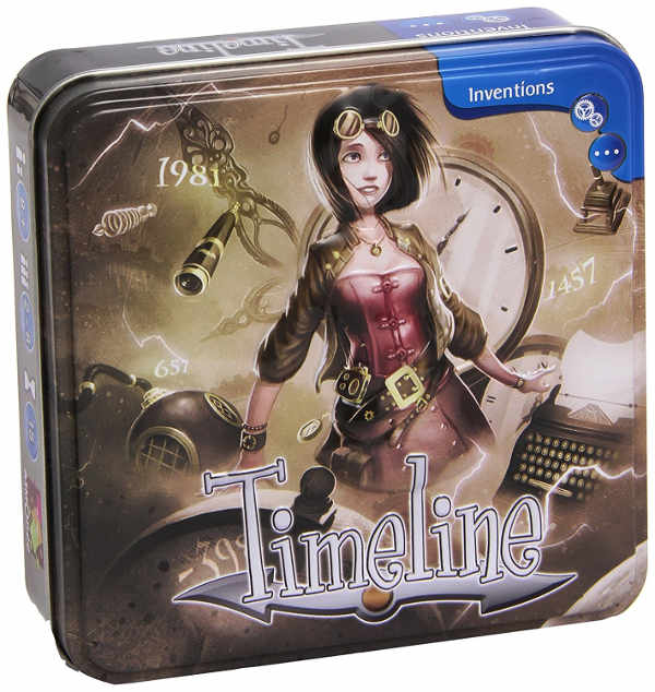 The Timeline board game box