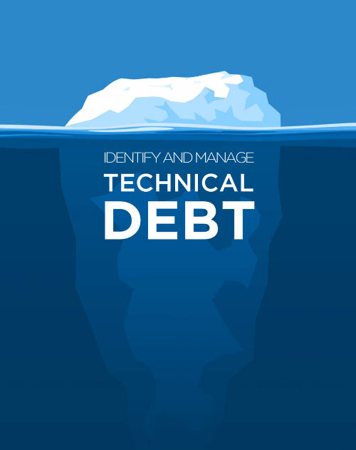A technical debt iceberg