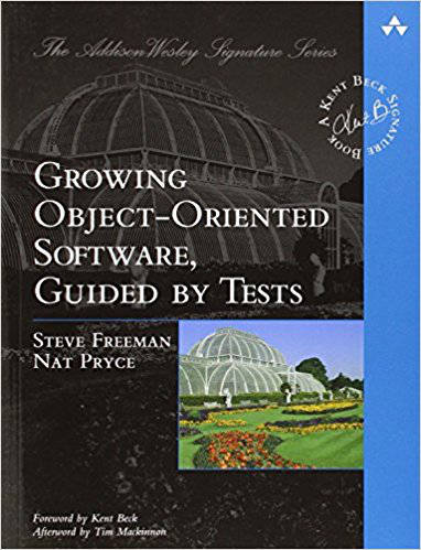 The cover of Growing Object-Oriented Software, Guided By Tests