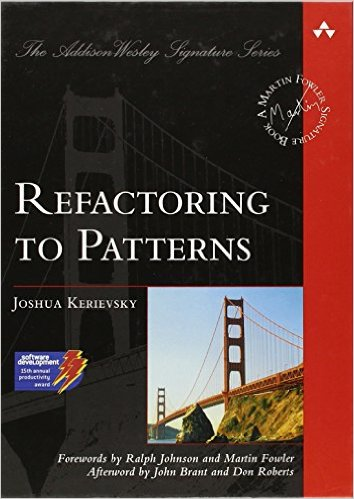Joshua Kerievsky's Refactoring To Patterns book cover