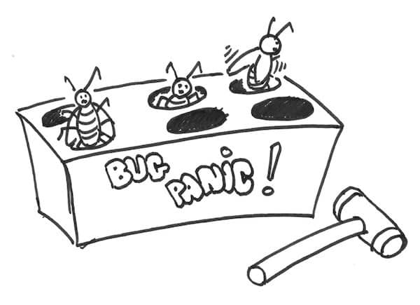 The Bug Panic game