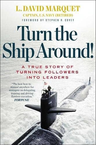 "Cover of the book ""Turn the ship around"""