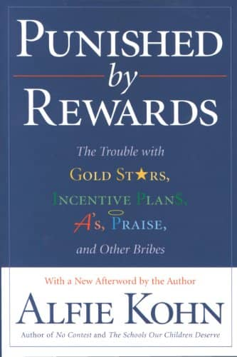 "Cover of the book ""Punished by rewards"""
