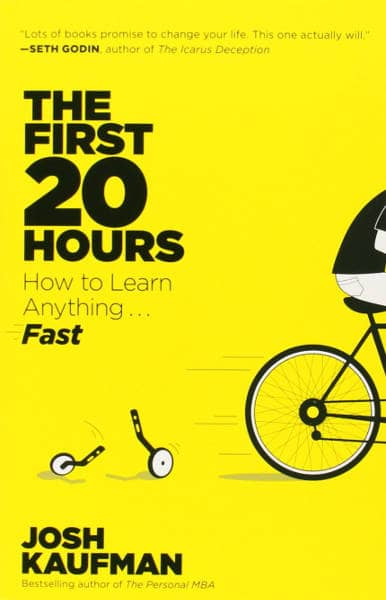 "The cover of the book ""The first 20 hours"""