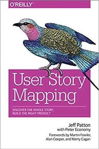 Cover of the User Story Mapping book. User Story Mapping is a great follow-up to a DDD Big Picture Event Storming