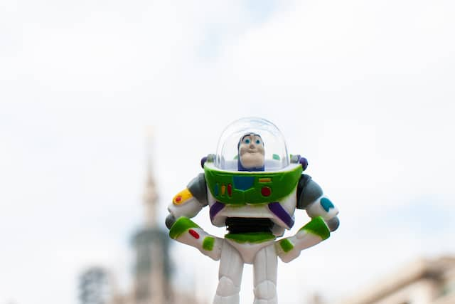 A photo of Toy Story's Buzz Lightyear