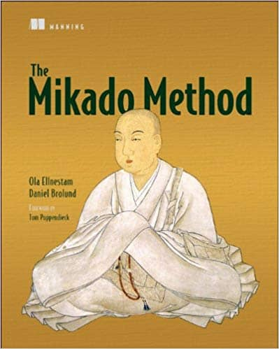 The cover of the book The Mikado Method by Ola Ellenstam and Daniel Brolund