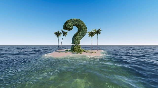 Photo of a tree in form of a question mark on a desert island in the middle of the ocean. Starting with Why is usually the smartest thing to do. Emily Bache's reasons to become a technical coach are still valid when trying to introduce technical coaching in your current organization.