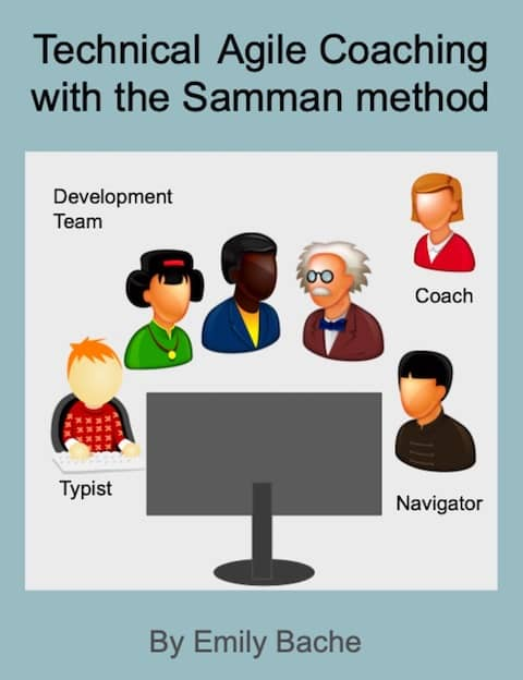 """Cover of Emily Bache's book """"Technical Agile Coaching with the Samman Method"""""""
