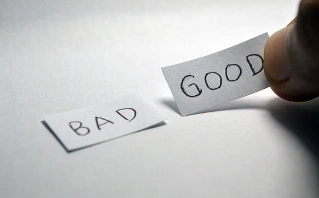 """Photo of a hand with 2 small pieces of paper written """"Bad"""" and """"Good"""". TDD can be done good or bad. As technical agile coaches, we must learn how to coach teams that have been exposed to bad TDD."""